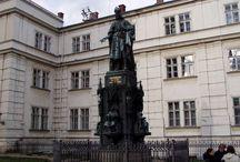 Pomník Karla IV. v Praze