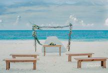 Destination Wedding ♥ / O Destination Wedding proporciona aos noivos uma experiência única e inesquecível. Fazer as malas para se casar em um lugar diferente só pode ser, no mínimo, muito emocionante! #DestinationWedding #travel #trip