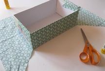Crafts/sewing: pojemniki, opakowania