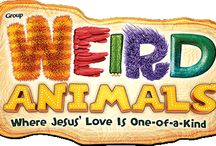 Weird Animals VBS 2014 / by Courtney Wells