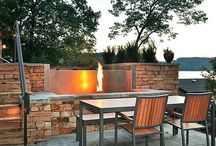 Stainless Steel Fire Feature  / Check out Bradford's line of Fire Features