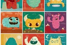 Grumpy Monsters