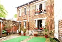 Jolie maison de ville avec terrasse métro Marcel Sembat