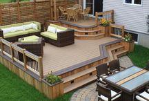 Back garden/patio