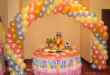 My daughter's Princess Party
