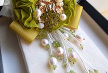 Brooches Ideas / These brooches will enrich your embark on making them