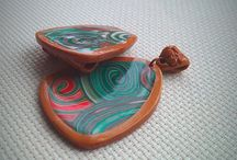 """Кулоны из полимерной глины / Добро пожаловать в творческую мастерскую ТМ """"RikaMir""""! Handmade. Авторские украшения ручной работы. Работы выполняются в единственном экземпляре. Сделано с любовью! Присоединяйтесь и выбирайте!"""
