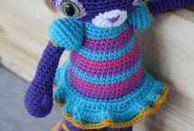 Crochet dolls etc.