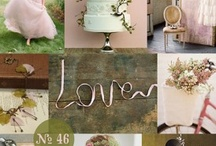 Inspirationboards for wedding / Inspiration boards for your wedding.
