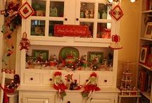 Christmas - decor / Decorating your house with retro Christmas