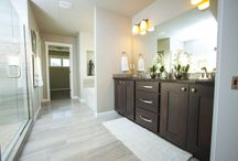 Luxury Master Baths / Tubs, showers and large walk-in closets of your dreams.
