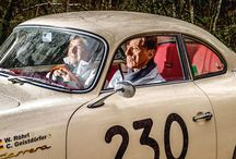 Walter Röhrl y Christian Geistdörfer en la Mille Miglia / Las leyendas Walter Röhrl y Christian Geistdörfer han competido en casi todos los principales rallyes de coches, pero todavía no habían conducido la Mille Miglia juntos.