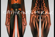 Infernus outfits and hair shenans