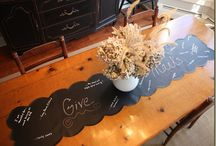 What to do with chalkboard fabric