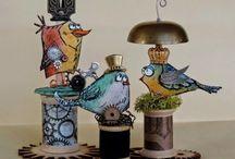 crazy birds by tim