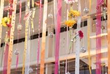 Bunting, hangings & lights