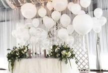 Оформление свадьбы с воздушными шарами