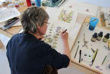 Artists Studios and Sketchbooks