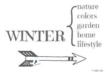 WINTER / by AnMa ZiNe ╰☆╮