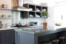 Kitchen Remodel / Remodeling and inspirational ideas for a modern and slightly rustic kitchen!
