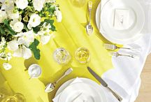 How to dress a table