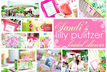 {PARTY} Wedding Showers / Lilly Pulitzer inspiration for any wedding showers!