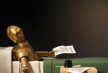 Humorous Art / Humorous art, humor in art, art parodies, Star Wars art parody