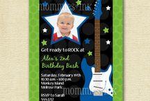 Brody's Birthday / First Birthday, Brody, Carter's, Rockstar / by Beth Carter