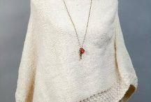 Artesanía en lana tejida a palillo