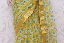 Simple sarees
