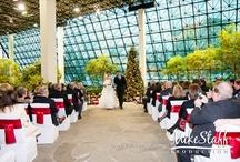 Westin Southfield Detroit- Southfield Town Center Atrium Wedding Ceremonies