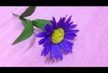 flor crepe