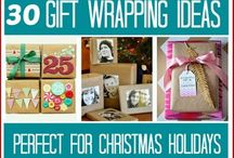 Christmas / Ideas for gifts, wrapping