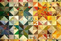 Patchwork, quilts