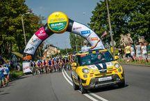 Fiat na trasie Tour de Pologne 2014 / Fiat po raz 22. jest partnerem imprezy! Oficjalnym Samochodem wyścigu oraz nagrodą główną dla zwycięzcy Klasyfikacji Generalnej jest rodzinny crossover Fiat 500L Trekking.