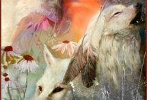 természet, állatok, művészet