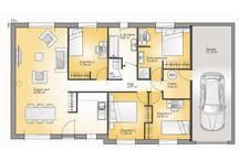 Plan Maison 110M2