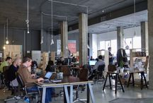 Coworking spaces / inspirations for my own future coworking space: Cosmos Coworking Space