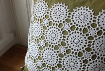Upcycled doilies