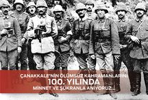 #18Mart1915 / Çanakkale'nin Ölümsüz Kahramanlarını 100. Yılında Minnet ve Şükranla Anıyoruz... #18Mart1915