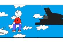 Herr Kompositor / best comic strips from http://herrkompositor.it