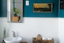 bathroom renovation / by Stephanie Fawcett