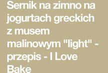 sernik na zimno z jogurtów greckich