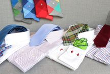 Shirts / ties / pochette / https://www.facebook.com/media/set/?set=a.10152400538884844.1073742168.94355784843&type=1  #mtm #madetomeasure #buczynski #buczynskitailoring #shirts #tie #tailoring