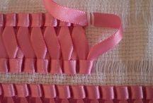 haft wstążeczkowy