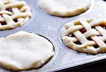 Mini pies cupcake