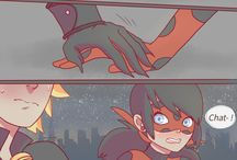 Lady bug and chat noir