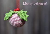 Xmas crochet decoration/ Karácsonyi horgolt dekoráció