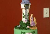 Tangled cake ideas