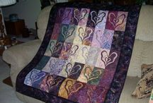 purple quilts / by Carol Mercer
